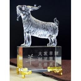 Фигурка животного стекло (Овца)