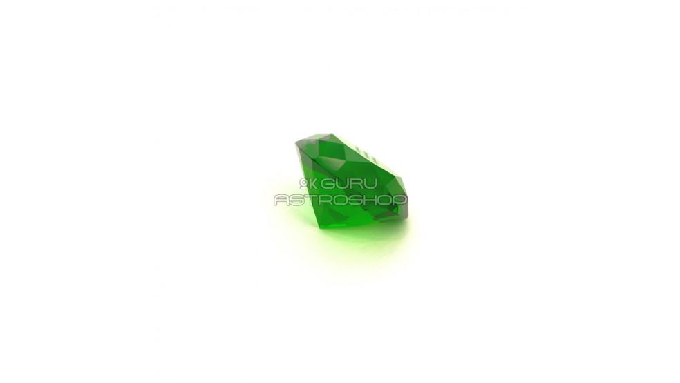 """Кристалл зеленый с мантрой """"Тары"""""""