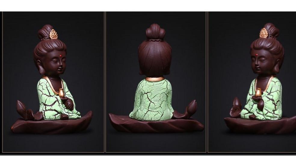 Маленький Будда Гуаньшиинь (для защиты в автомобиль)