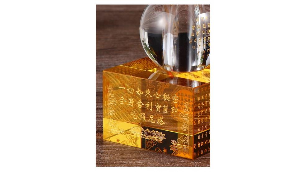 Пагода пяти элементов стеклянная
