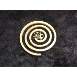 Спираль для коррекции Васту (круг, бронза)