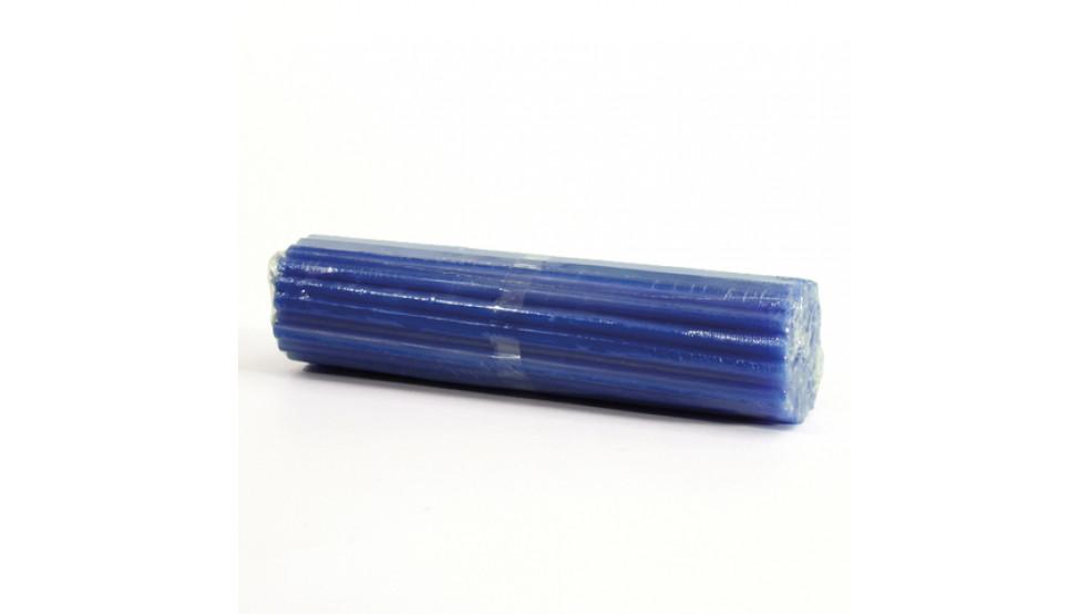Свеча синяя (тонкая)